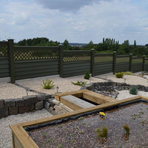 garden fencing - permafence