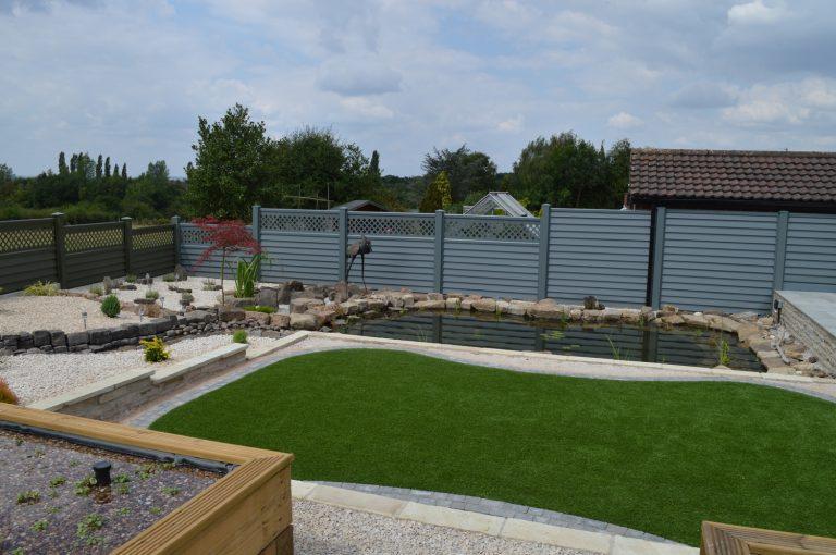Garden Fence finished