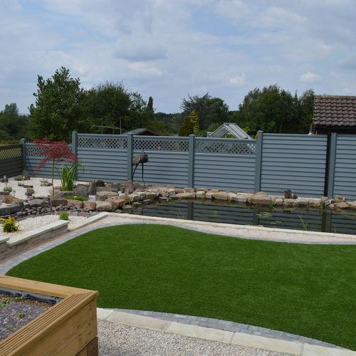 garden metal fence